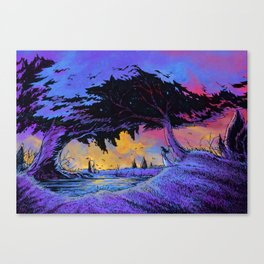 Motionless meeting Canvas Print