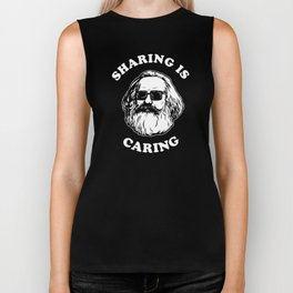 Sharing Is Caring Biker Tank