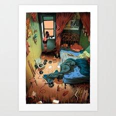 Morning Jazz Room Art Print