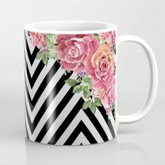 flowers geometric Mug