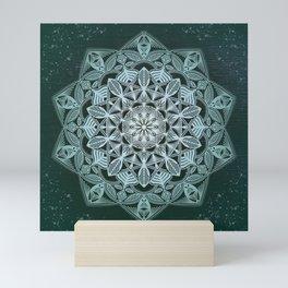 Green Mandala Mini Art Print