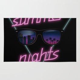 Summer nights Rug