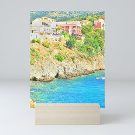 travel collection. Greece Mini Art Print