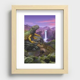 Cold blooded Recessed Framed Print