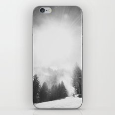 Blowing Snow iPhone & iPod Skin