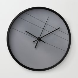 Skylines  Wall Clock
