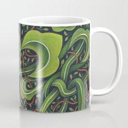 Asian Green Drapes Coffee Mug