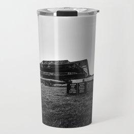 Historic German bunker  of World War II Travel Mug