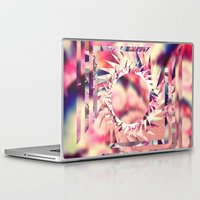 trippy Laptop & iPad Skins featuring Trippy  by Pink Berry Patterns