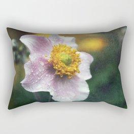 Pink Anenome Rectangular Pillow