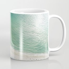 Helicopter View of Miami Beach Coffee Mug