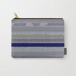 Denim with shreds Carry-All Pouch