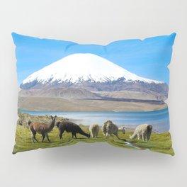 Chungara Lake, Chile Pillow Sham