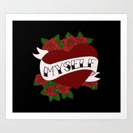 Self Valentine's Art Print