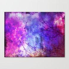 Pixel Dawn Canvas Print