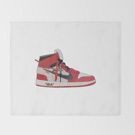 Jordan 1 - OFFWHITE Throw Blanket