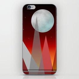 Under The Night Sky iPhone Skin