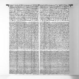The Rosetta Stone Blackout Curtain