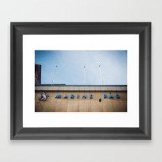 Marine Bar Framed Art Print