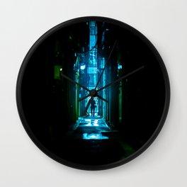 Replicant in the Rain Wall Clock