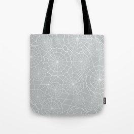 Spiderweb Pattern Tote Bag