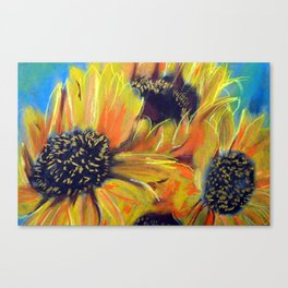 Rectory Series: Girasol #9 Canvas Print