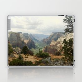 Above Zion Canyon Laptop & iPad Skin