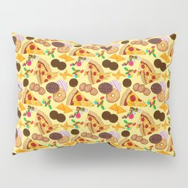 Snacks on Snacks Pillow Sham