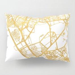MANILA PHILIPPINES CITY STREET MAP ART Pillow Sham