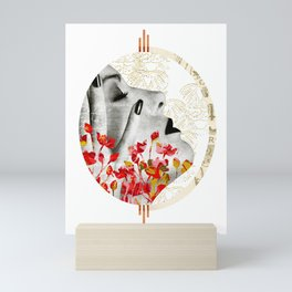 Hand of a Woman Collage Mini Art Print