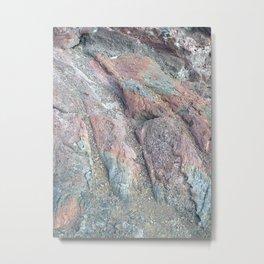 Rainbow Rock Metal Print