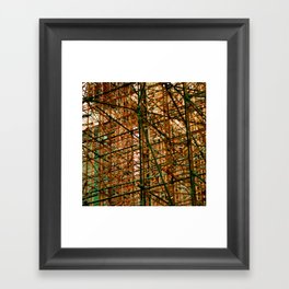 woven Framed Art Print