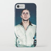ryan gosling iPhone & iPod Cases featuring 'Drive' Ryan Gosling by Studio Caro △