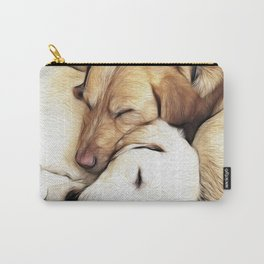 Let Sleeping Dogs Lie Carry-All Pouch