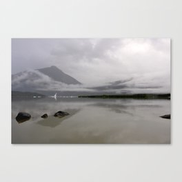 Mendenhall Lake Canvas Print