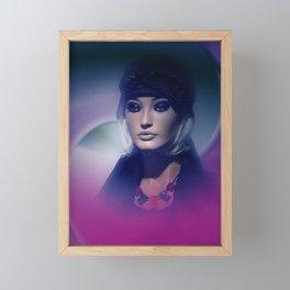 showcased - violet Framed Mini Art Print