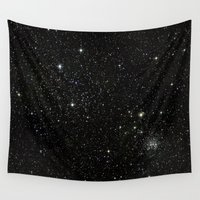 universe Wall Tapestries featuring Universe  by Walk on Water