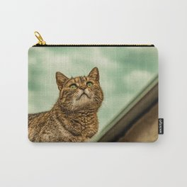 Cat on a rooftop Carry-All Pouch