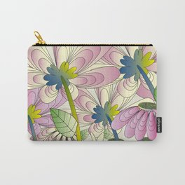 Daisy Floral Pattern 1 Carry-All Pouch