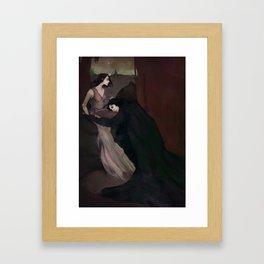 Darkness Seeks Light Framed Art Print