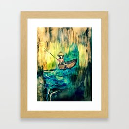 Tales on the Mekong Delta Framed Art Print
