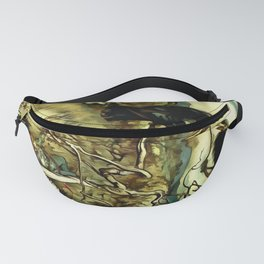 The Two Crows Fanny Pack