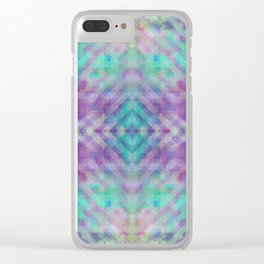 Mythical Space: Serenity Clear iPhone Case