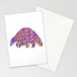 Trippy Pangol Stationery Cards
