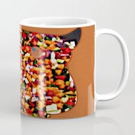 OWL - veg mosaic Coffee Mug