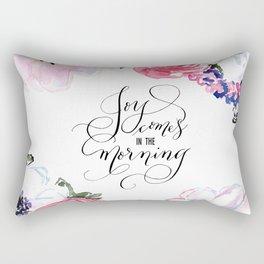 Joy - Psalm 30:5 Rectangular Pillow