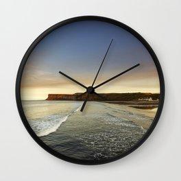 Saltburn-by-the-sea Wall Clock