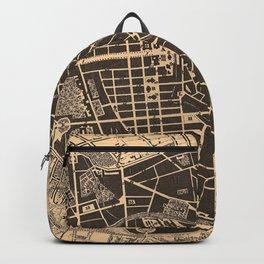 Vintage Map of Berlin Germany (1907) Backpack