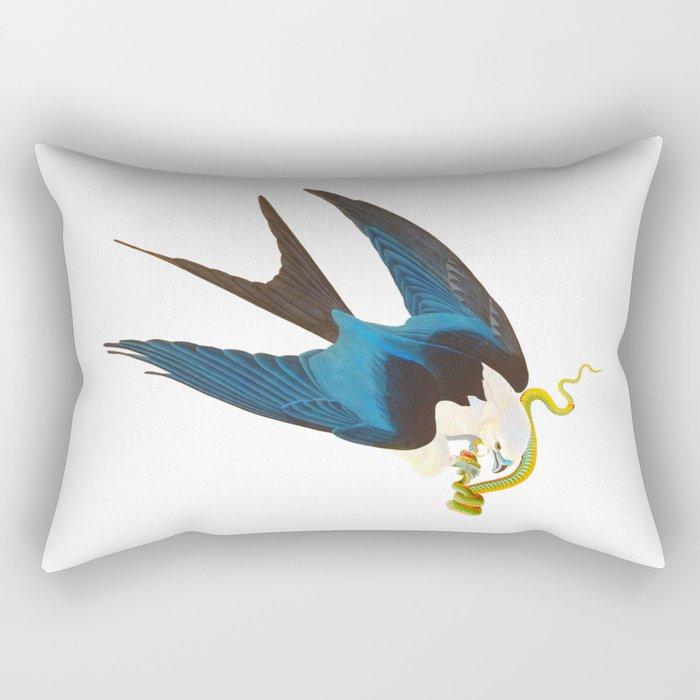 Swallow-tailed Hawk Rectangular Pillow