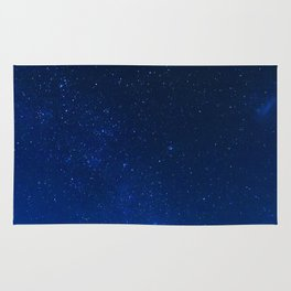Blue Night Sky (Color) Rug